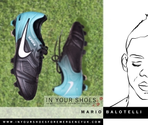 Mario Balotelli for In Your Shoes